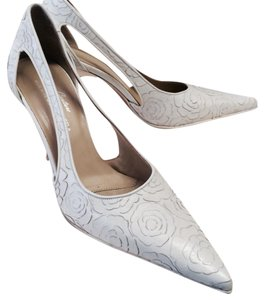 Donald J. Pliner #couture #leather Ivory Pumps