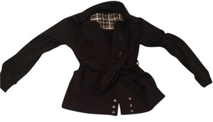 Vanity Jacket Comfortable Snap Tie Belted Wrap Sweater