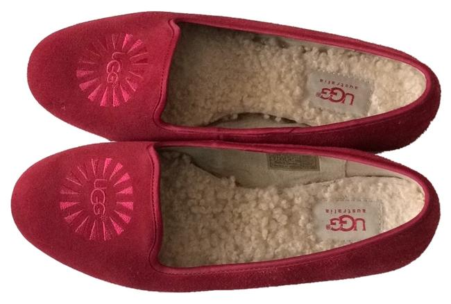 Item - Red Alloway Smoking Flats Size US 8 Regular (M, B)