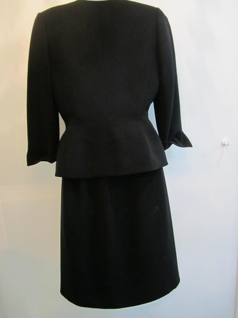 Thierry Mugler Thierry Mugler Black Two Piece Skirt Suit Size 40