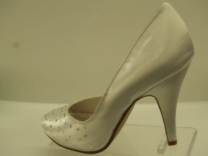 Special Occasions By Saugus Shoe Aurora 8101 White Size: 7 Wedding Shoes
