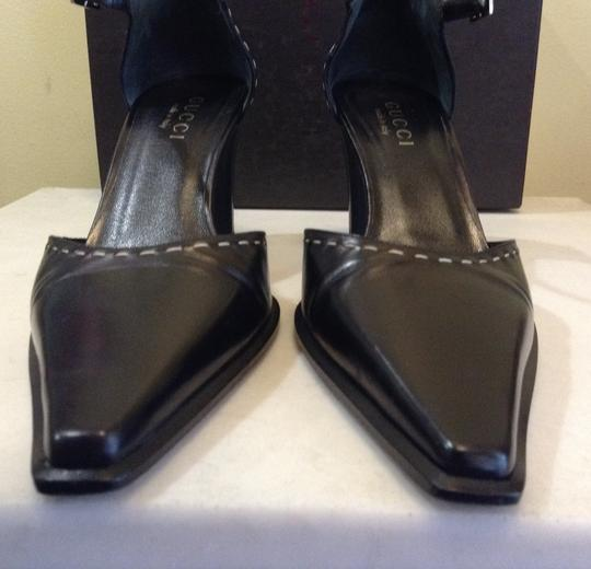 Gucci Leather Black Formal