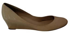 Cole Haan Patent leather Tan Wedges