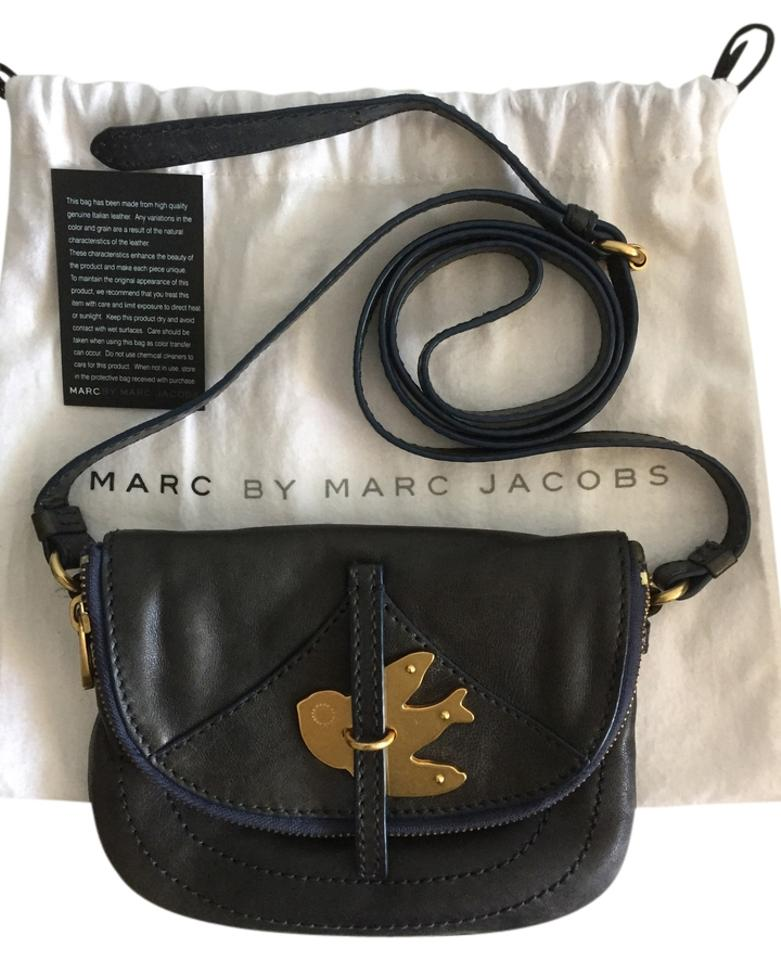 60ef76dd4b8d Marc by Marc Jacobs Flap Pouchette Leather Small Petal To The Metal Cross  Body Bag Image ...