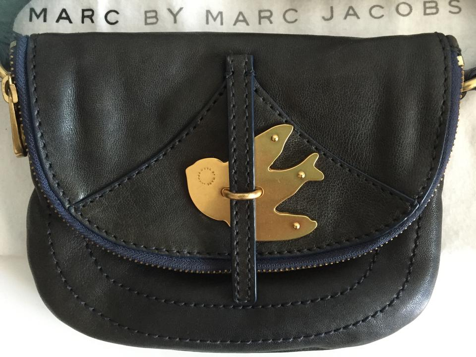 b0ff881fb7a4 Marc by Marc Jacobs Flap Pouchette Leather Small Petal To The Metal Cross  Body Bag Image. 12345678910