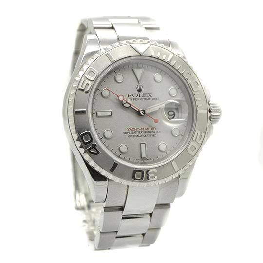 Rolex Rolex Yachtmaster 16622 Stainless Steel Grey Dial Mens Watch