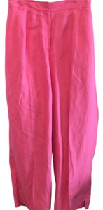 Larry Levine Capri/Cropped Pants Bright Pink