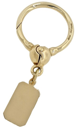 Preload https://item1.tradesy.com/images/tiffany-and-co-yellow-gold-rare-keychain-ring-with-tag-charm-116g-4823455-0-0.jpg?width=440&height=440