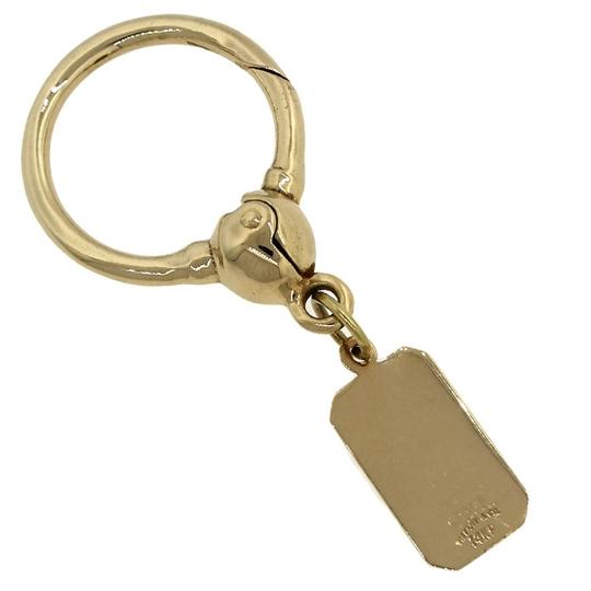 Tiffany & Co. RARE Authentic Tiffany & Co. 14k Yellow Gold Keychain Ring with Tag Charm 11.6g