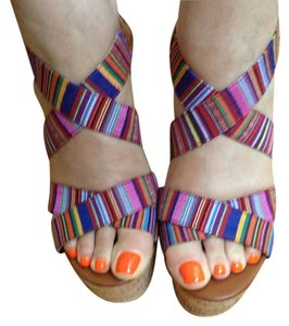 Chinese Laundry Colored Sandal Heeled Multi Sandals