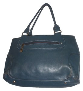 Cole Haan Vintage Handbag Tote in Blue tail