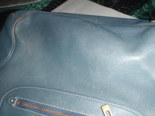 Cole Haan Vintage Shoulder Hand Tote in Blue tail