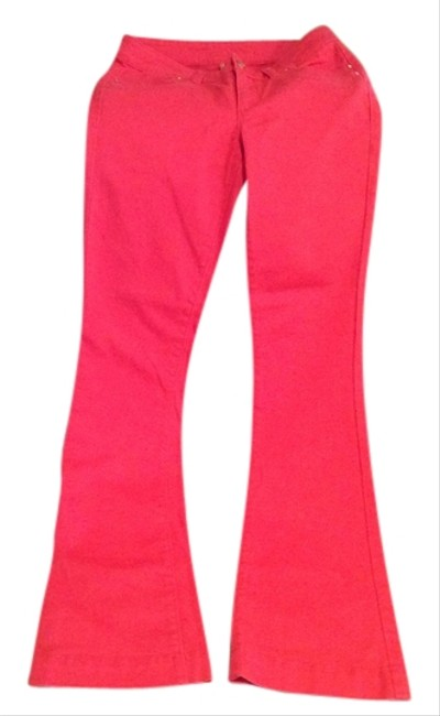 coral pants Maxi Dress by Cache Cute