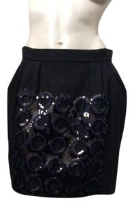 Marni Skirt Black and Navy