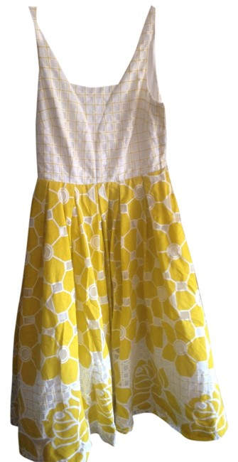 Preload https://item5.tradesy.com/images/modcloth-dress-yellow-4824349-0-0.jpg?width=400&height=650