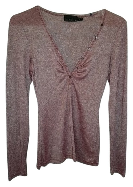 Preload https://img-static.tradesy.com/item/4824544/the-limited-mauve-women-s-s-long-sleeve-blouse-size-6-s-0-0-650-650.jpg