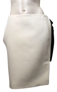 Lanvin Skirt White and Black