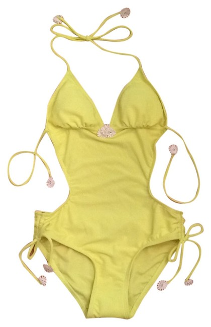 Item - New Ultra Yellow Y58190 One-piece Bathing Suit Size 6 (S)