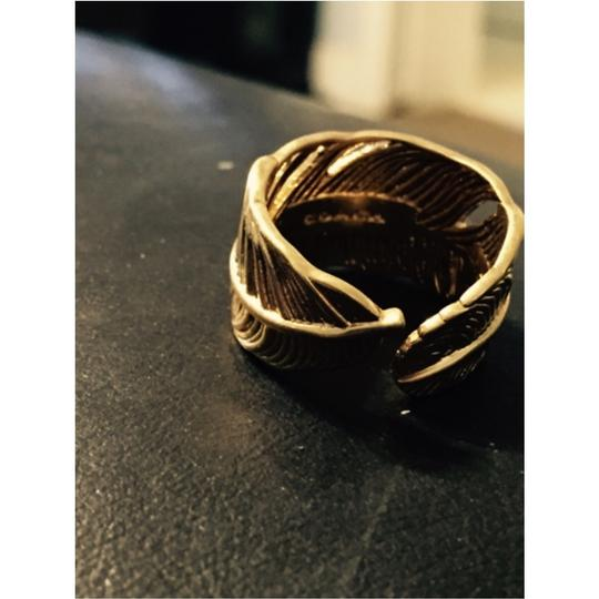 Coach NWT Coach Feather Ring