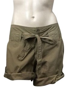Billy Blues Cuffed Shorts Dark Khaki