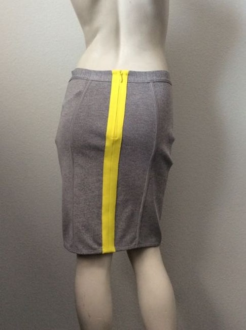 Cut25 Skirt Gray and Yellow