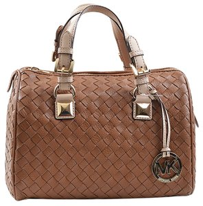 Michael Kors 30t2mgos2l Satchel in Luggage Brown