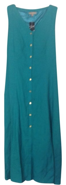 Teal Maxi Dress by Ashley Stewart