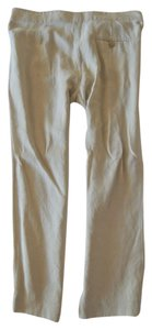 Isabel Marant Cropped Trousers Relaxed Pants IVORY