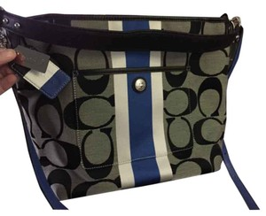 Coach Heritage Stripe Cross Body Bag
