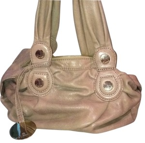 Gustto Leather Satchel in Taupe
