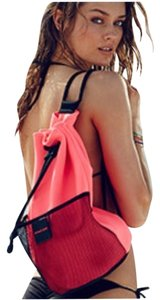 Victoria's Secret Drawstring Beach Swim Gym Tote in Pink
