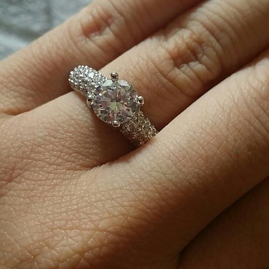 Preload https://item5.tradesy.com/images/925-4-5-6-7-8-diamond-silver-925-15-ct-engagement-ring-4827994-0-0.jpg?width=440&height=440