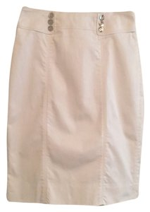 White House | Black Market Whbm Work Pencil Mini Skirt White