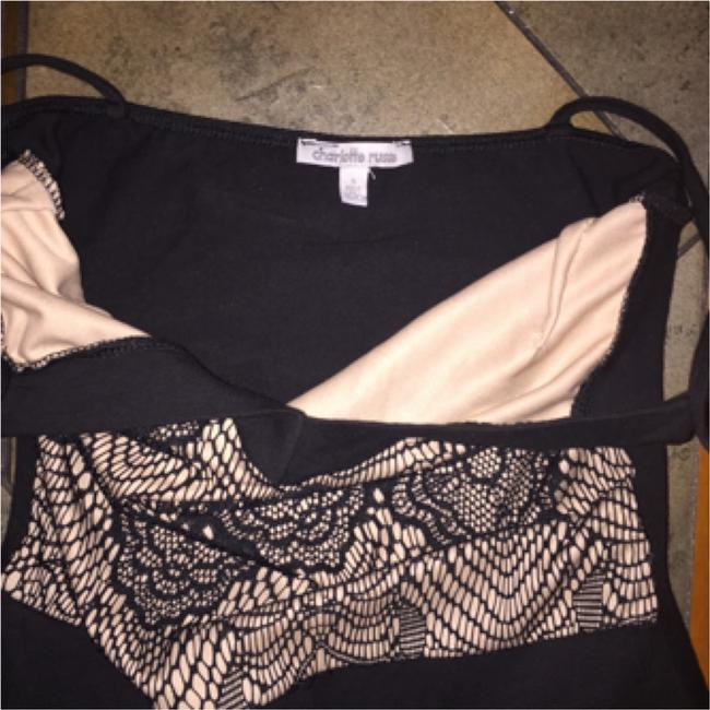 Charlotte Russe Top Blac