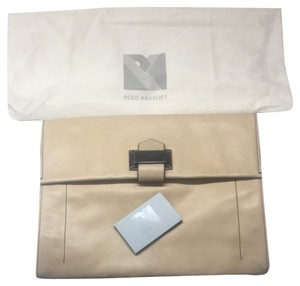 Reed Krakoff Glove Tan Clutch