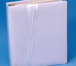 Audrey Memory Book White