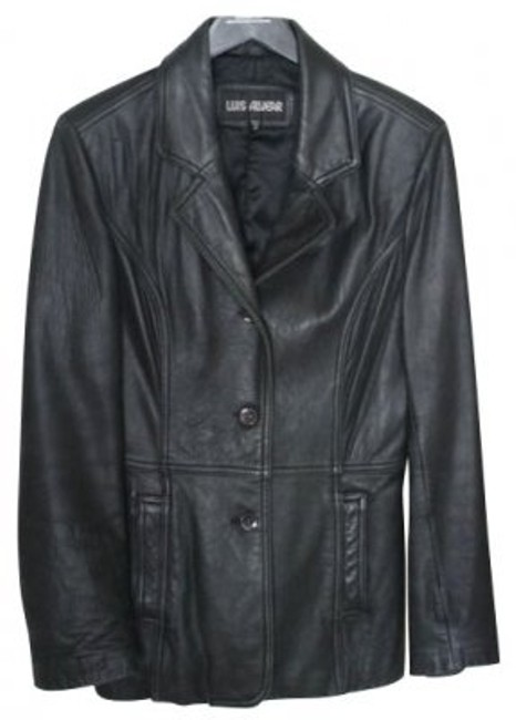Preload https://img-static.tradesy.com/item/4833/luis-alvear-black-leather-jacket-size-10-m-0-0-650-650.jpg