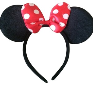 Disney Red Minnie Mouse Ears