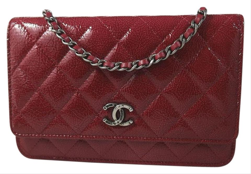 bfcfb9b34d4 Chanel Paris-dallas Metiers D art Wallet On A Chain Red Patent ...