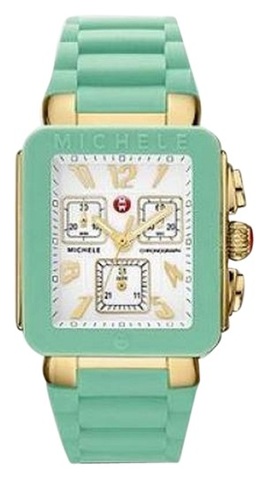 Michele Brand new Jelly Bean Pale Blue/ GOLD/ WHITE