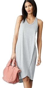 Gap short dress Dark Gray Old Navy Banana Republic Wrap Summer Gray on Tradesy