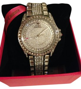 Juicy Couture Juicy Couture 'Stella' Crystal Encrusted Watch, 40mm