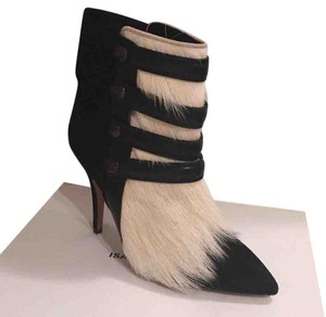 Isabel Marant Black with white pony hair Boots