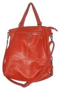 Melie Bianco Crossbody Handbag Tote in Red