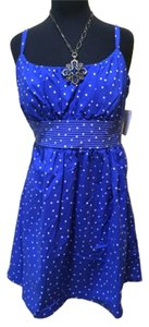 B. Smart short dress Blue and white on Tradesy
