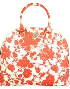 Tory Burch #tradesy #robinsondomesatchel Satchel in Orange and Cream