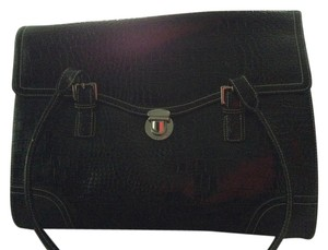 Liz Claiborne Black Messenger Bag