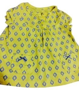 Carters Top Yellow & Blue