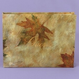 Other Maple Leaf Fall Guest Book