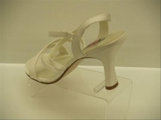 Special Occasions by Saugus Shoe Diamond/Silk White 18010 Strappy Open Toe Destination Beach Cruise Wear Sandals Size US 8.5